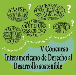 Convocatoria V Concurso Interamericano de Derecho al Desarrollo Sostenible