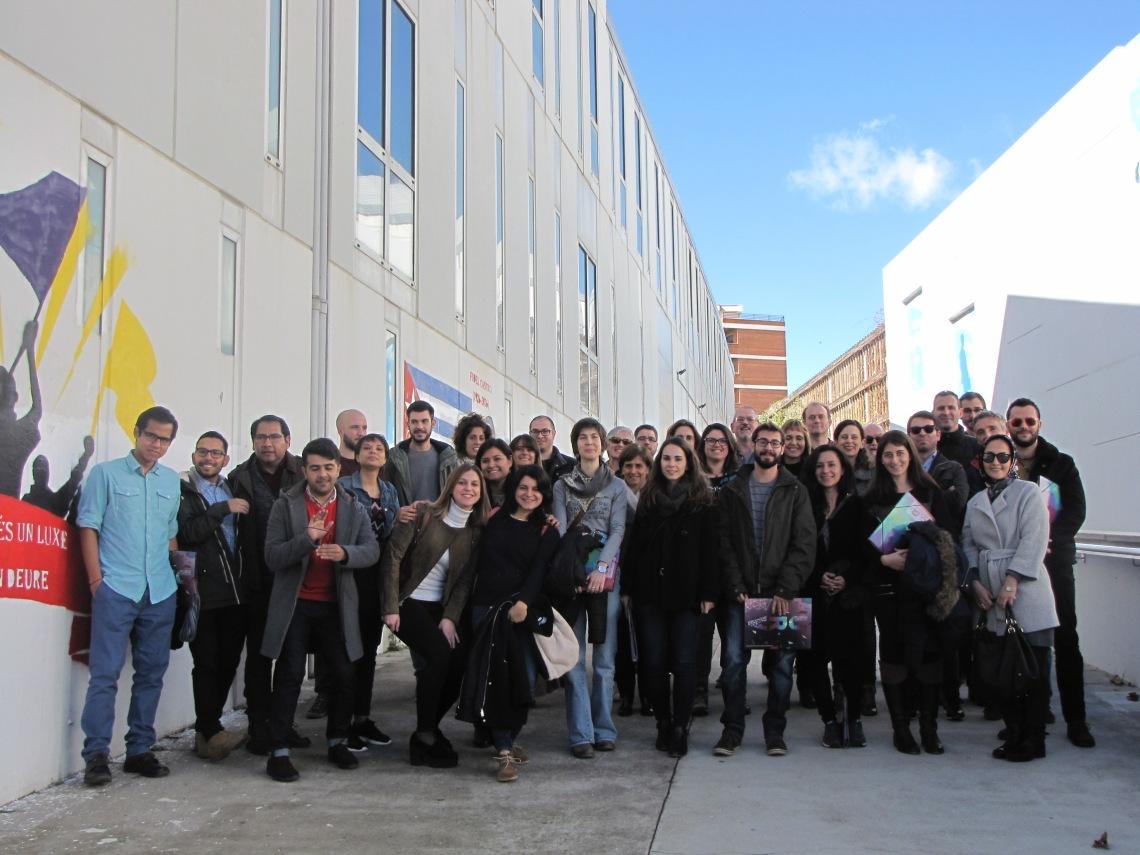 Encuentro entre profesores y estudiantes del MUDA 2017